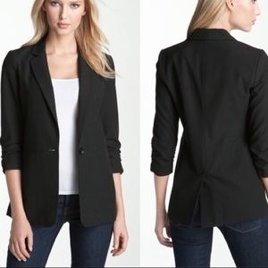 Michael Kors Scrunch Sleeve Blazer